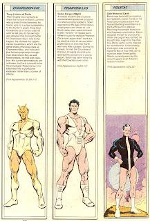 Chico Fantasma, Chico Camaleon y Turon (ficha dc comics)