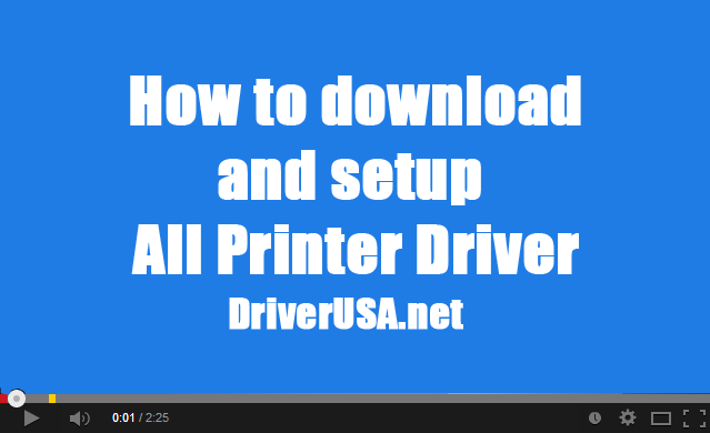 download printer drivers