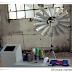 Maquina de tejer eólica. Vídeo