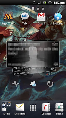 Sony Ericcson Xperia pro Android desktop
