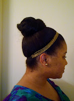 Bun for Medium Length Hair