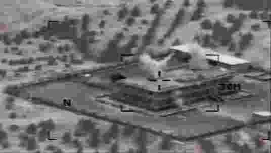 US Command Center Photo of US bombing of ISIS Installation. This is another example of a sign of the end times foretold in Bible Prophecy, i.e. the emergence of ISIS and the resulting war that follows fulfilling Jesus's prediction and 2 Timothy.