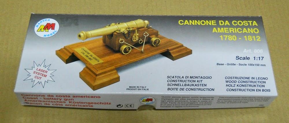 kit de la maqueta de cañón de Mantua