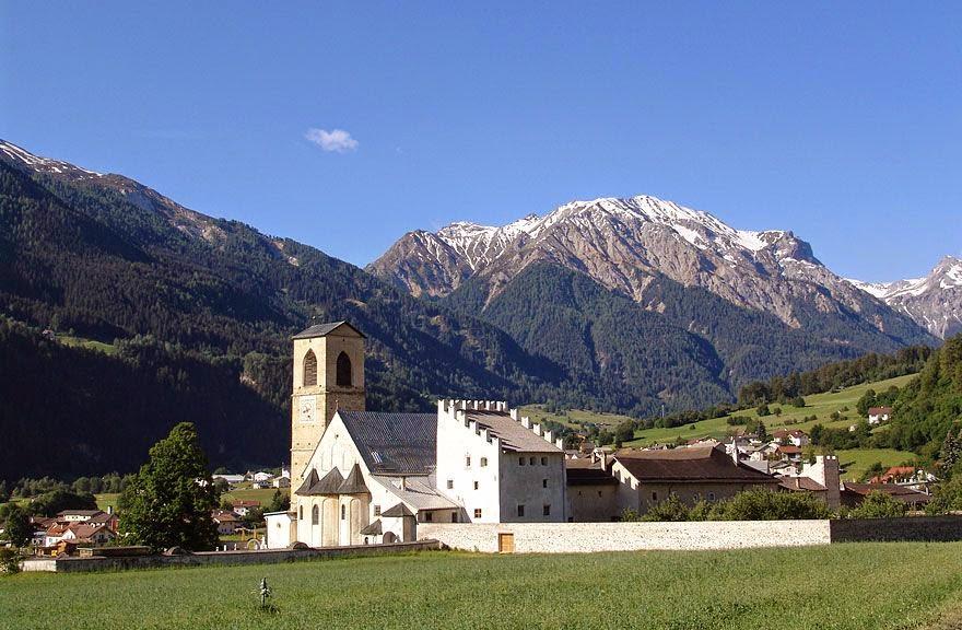 Vistare Val Müstair in Bassa Engadina in Svizzera