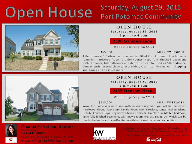 Port Potomac Community OPEN HOUSE  August 29 1pm to 4pm Transom Scuppers Claudia S Nelson 571-446-0002