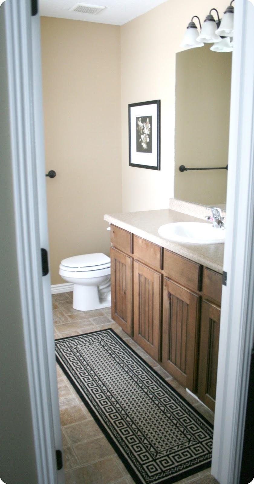 Our Master Bathroom Sliding Door & Basin Custom Hardware