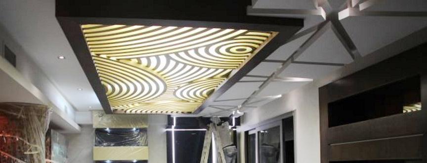 Faux Plafond Salon Villa