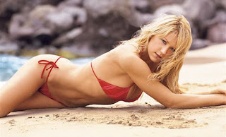 hot Anna Kournikova pose