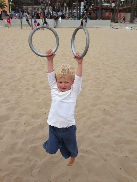 Bertil Muscle Playground Santa Monica