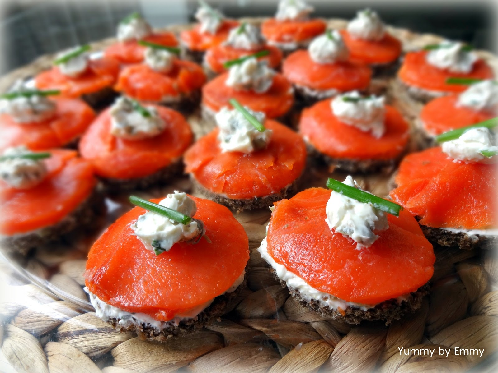 Yummy by Emmy: Smoked Salmon Finger Sandwiches