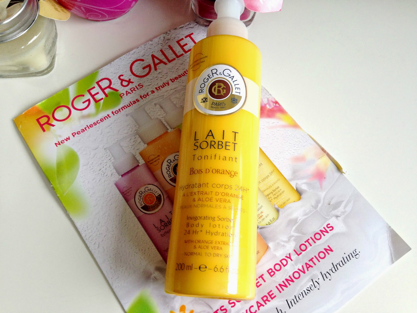 Roger and Gallet Bois d'Orange Invigorating Sorbet Body Lotion