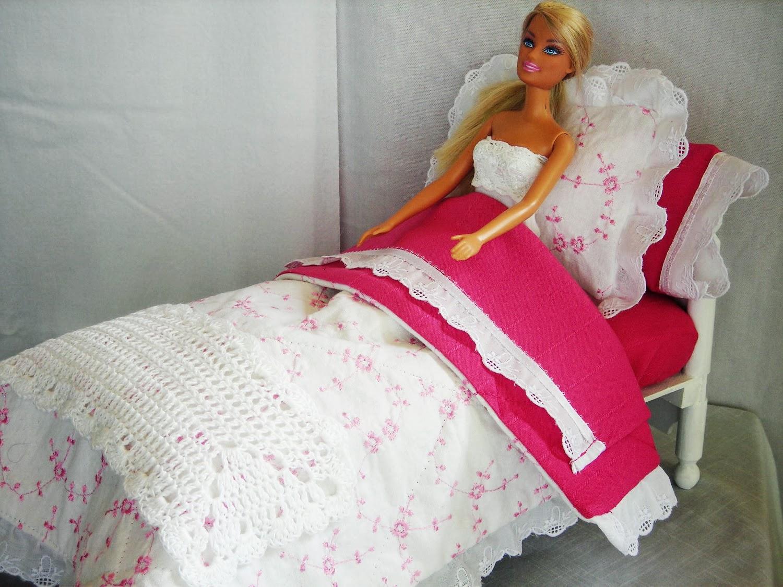 Как сделать кроватку своими руками барби 676