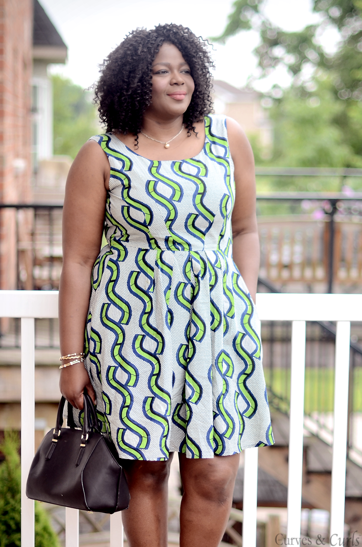Plus size african print dress #pagne #mode #robe