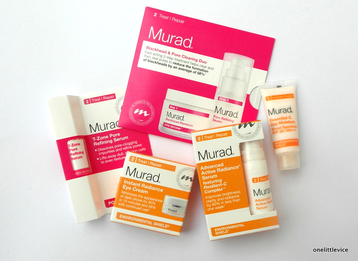 One Little Vice Beauty Blog: Murad Free Facial Review