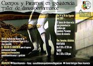 """Taller de danza-performance: """"Cuerpos y Páramos en Resistencia"""""""