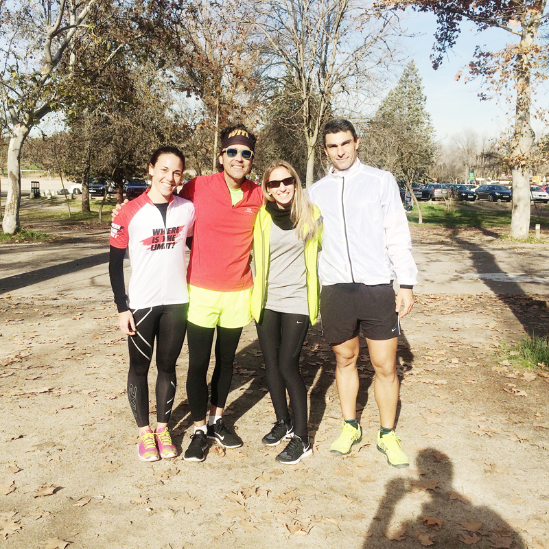 Correr en grupo