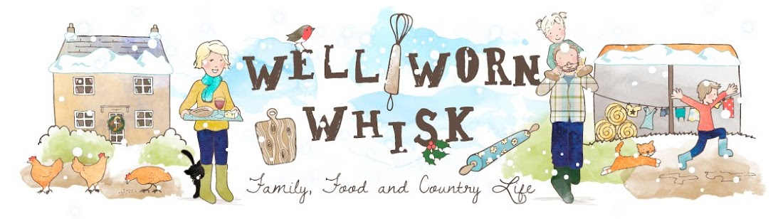 Well Worn Whisk: a blog about family, food & country living