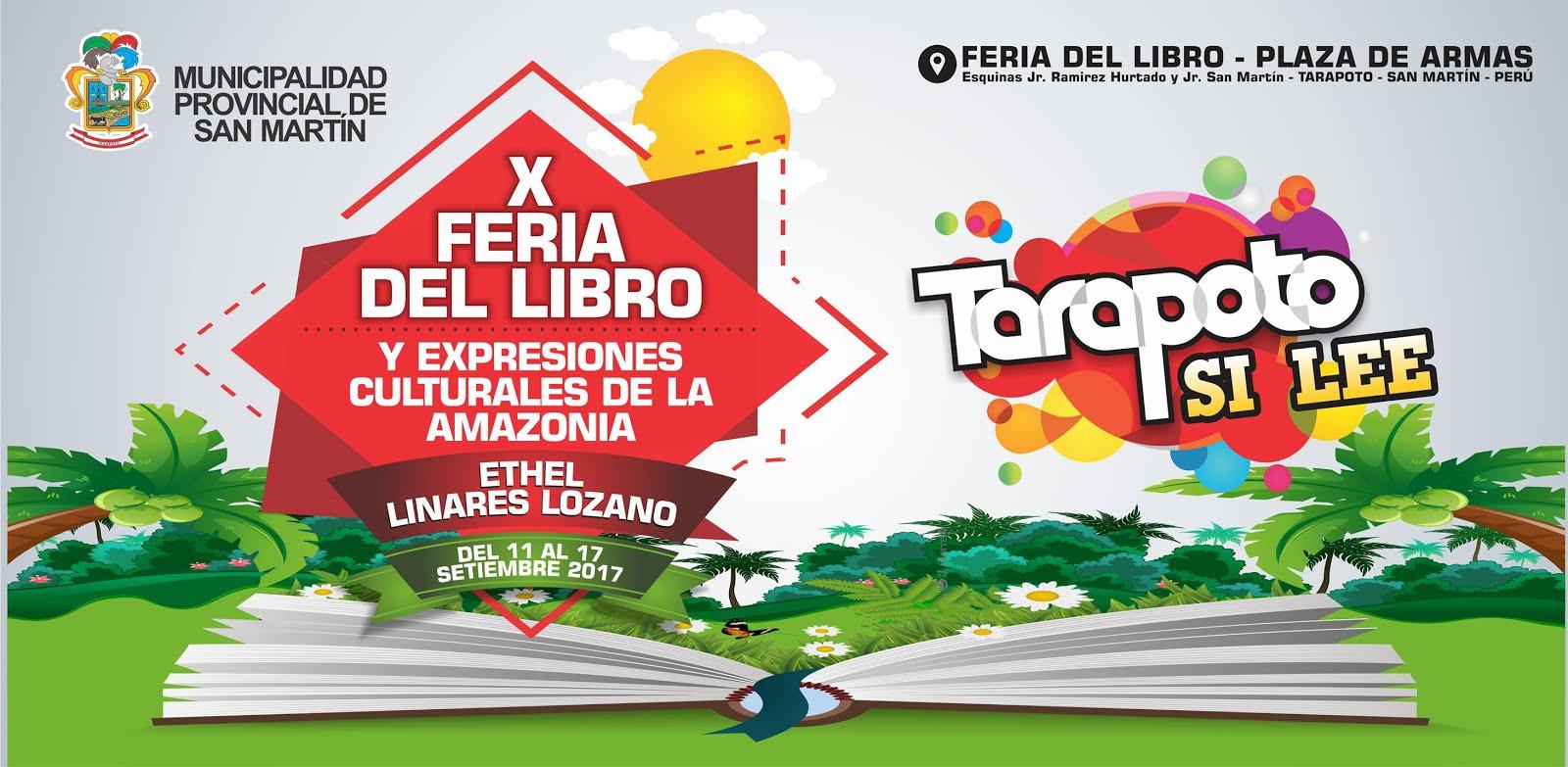 En X Feria del Libro de Tarapoto (11 - 17 setiembre 2017)