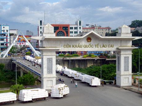 Của khẩu Lào Cai - Cho thuê xe đi Lao Cai