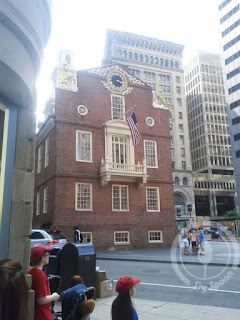 Freedom Trail Tour Boston Historic State House
