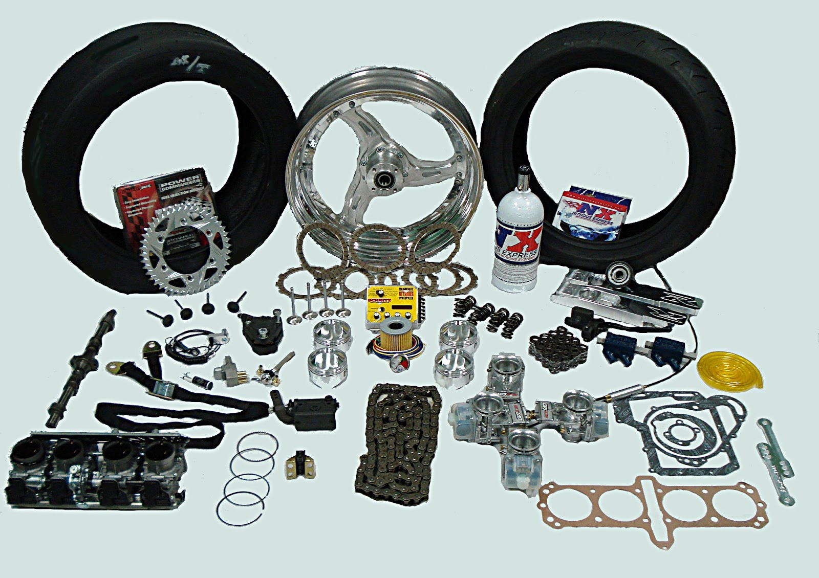 Motorcycle Performance Modification in 4 steps ( Harley-Davidson® motorcycles ) by  S&S® You don't have to settle for stock. Owners of Harley-Davidson® motorcycles