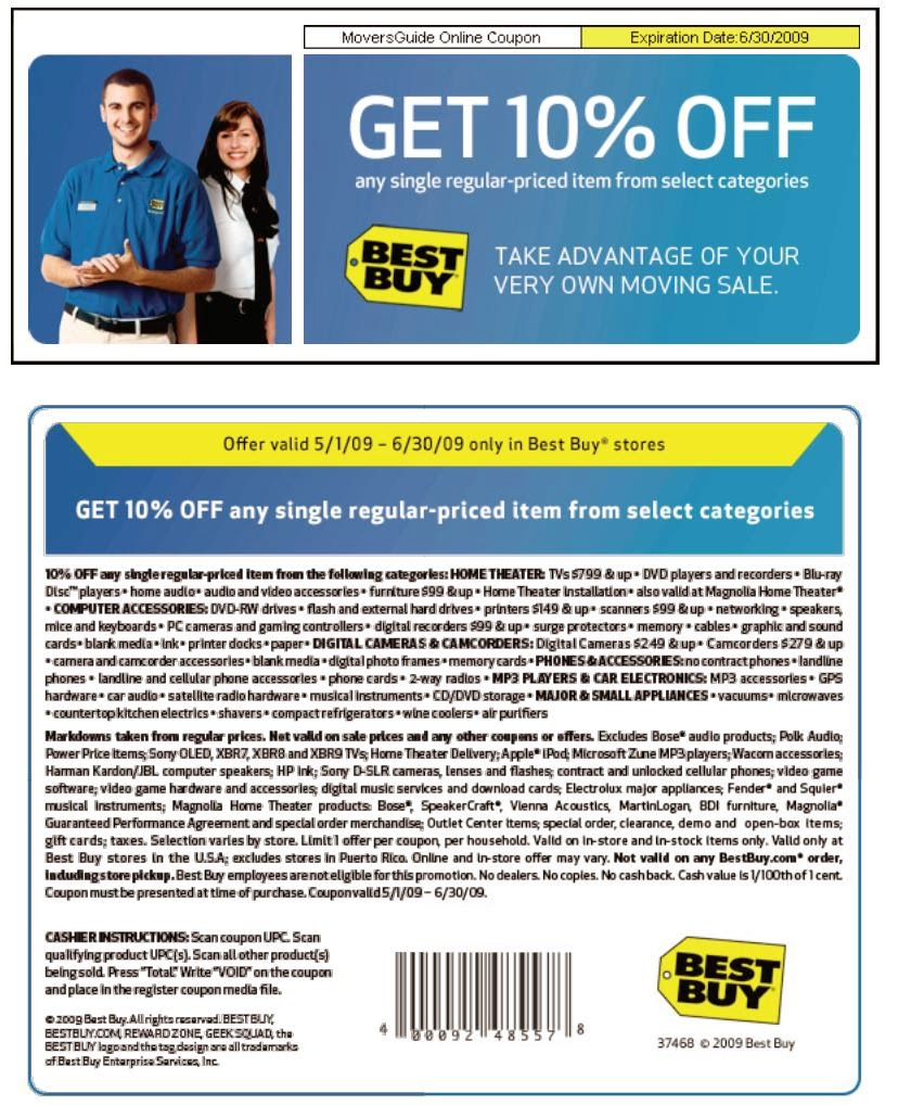 Best buy discount coupon