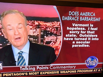 Bill O'Reilly frame grab with text