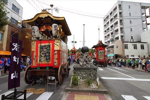 亀岡祭 宵々山~本祭山鉾巡行