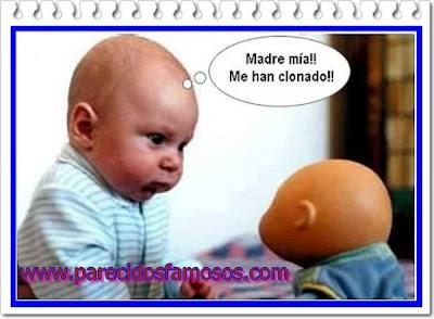 otra mas Bebé con muñeco