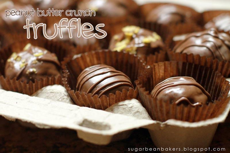 Sugar Bean Bakers: { Peanut Butter Crunch Truffles }