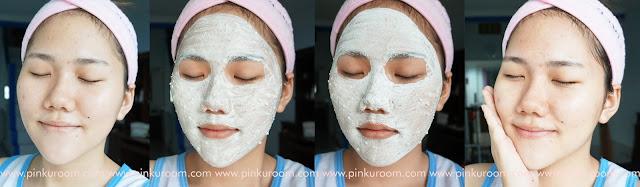 Ovale Facial Mask Bedak Dingin Pinkuroom