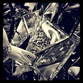 A Handful of Mirrors, #BGWindows, #BergdorfGoodman, #NYC