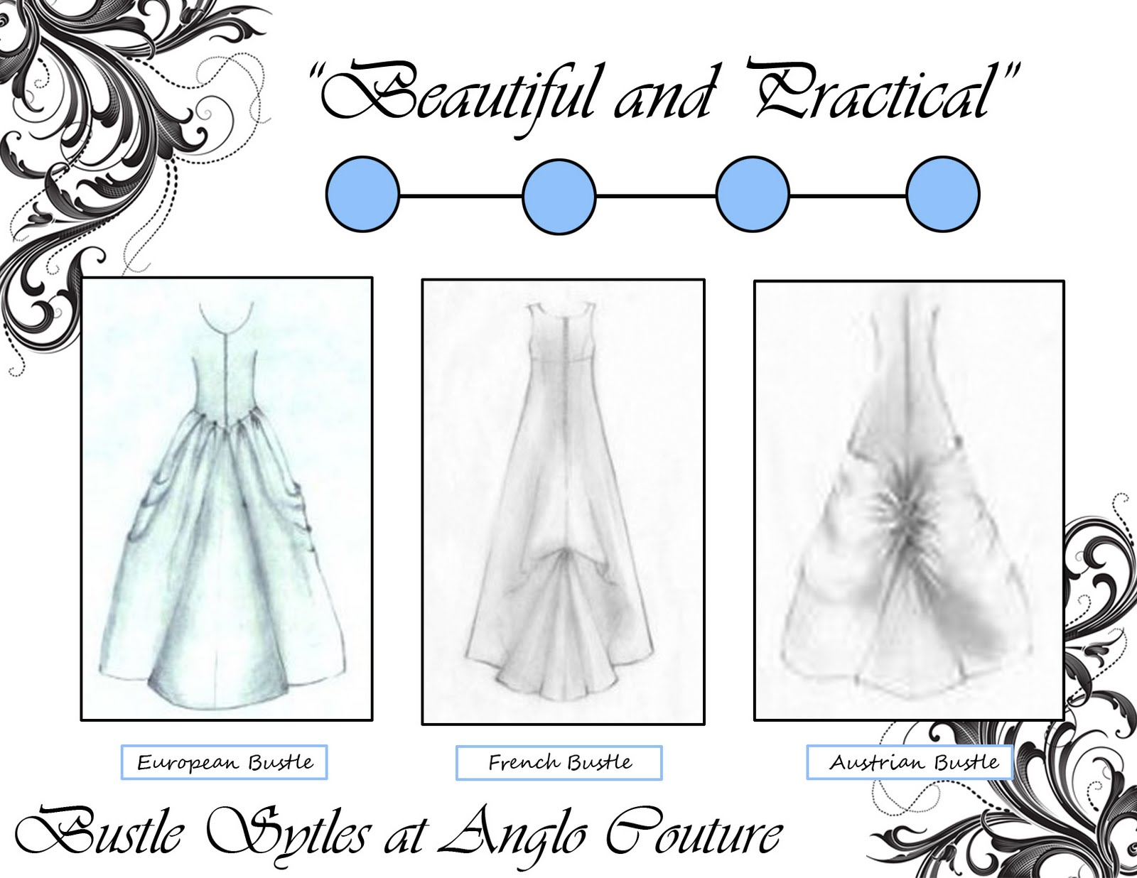 bustle styles at anglo couture