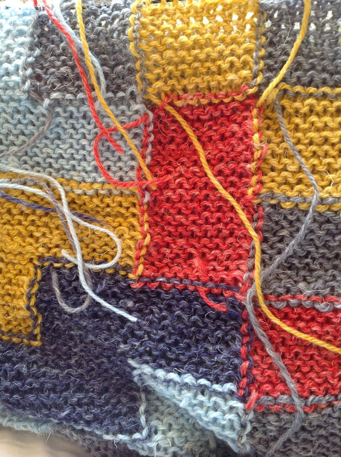 hæftning af ender på strikketøj