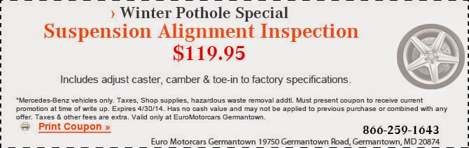 Euro germantown blog for Mercedes benz euro motorcars germantown