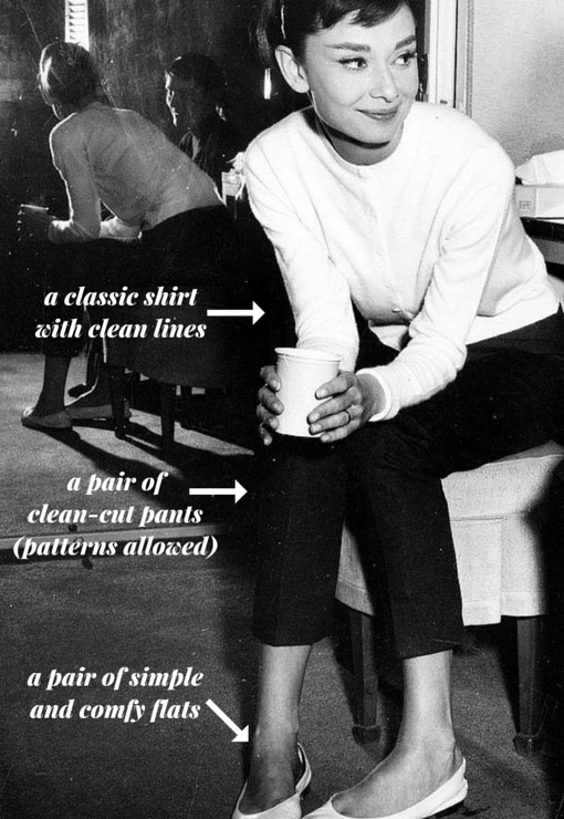 Steal Her Style Audrey Hepburn
