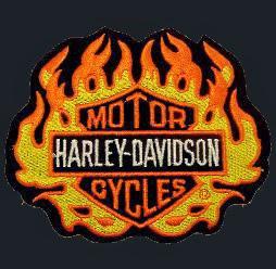 Jesper Motif Api Herley Davidson