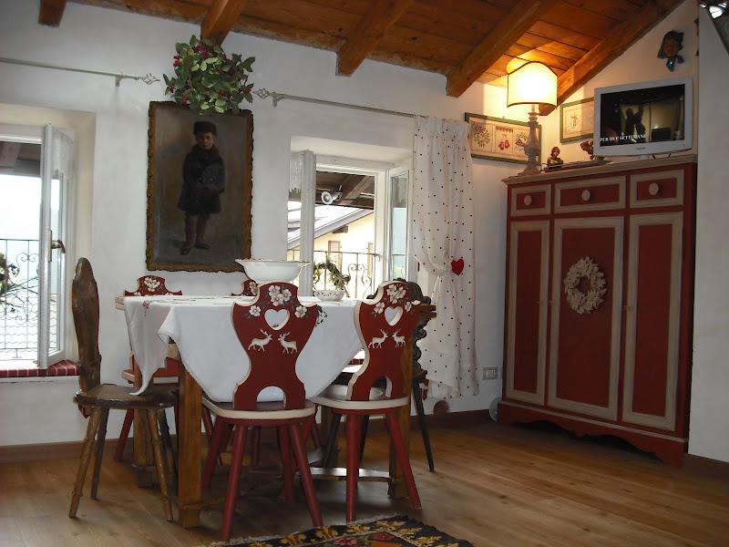 Variazione su arredo casa di montagna spostato i mobili bottega del decoro - Casa montagna arredo ...