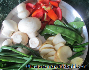 authentic kangsoi-vegetable-stew recipe