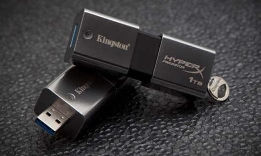 Kingston DataTraveler HyperX Predator 3.0 de un 1TB para llevar todos los datos, archivos, videos y documentos que queiras