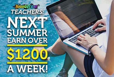 BoomWriter Virtual Summer Camps