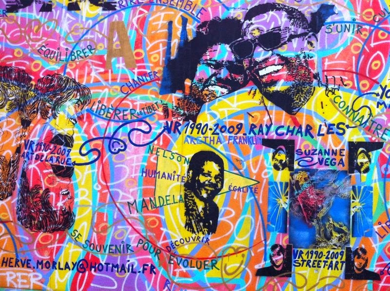 Street Art Graffiti Berlin Ray Charles Mandela Martin Luther King Berlin Mauer East Side Gallery