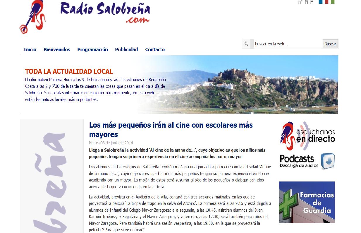 http://www.radiosalobrena.com/index.php?option=com_content&view=article&id=2085:los-mas-pequenos-iran-al-cine-con-escolares-mas-mayores&catid=1:noticias-locales&Itemid=65