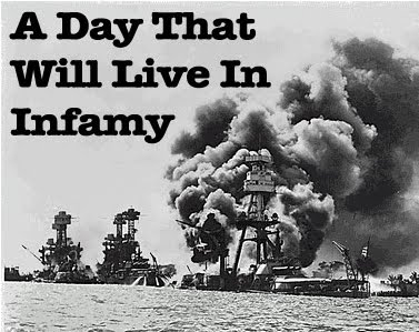 december 7 1941 a day that will live in infamy A date which will live in infamy a description by president franklin d roosevelt of the day of the japanese attack on pearl harbor — december 7, 1941.