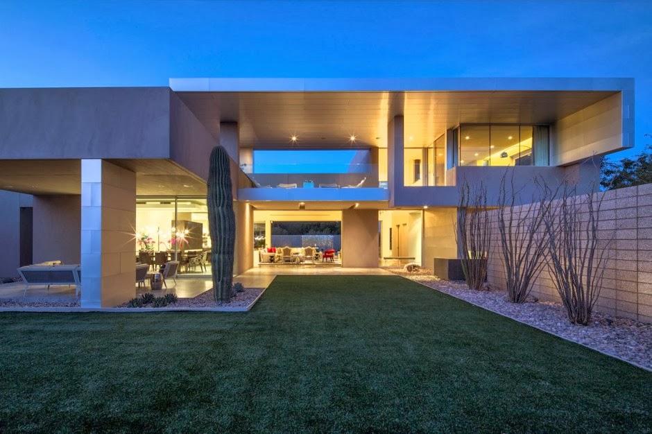 Casa moderna birds nest dise o de brent kendle en - Casas minimalistas de lujo ...