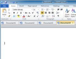 documenti Office in una sola finestra