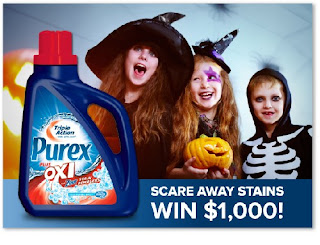 purex with oxi halloween contest photo