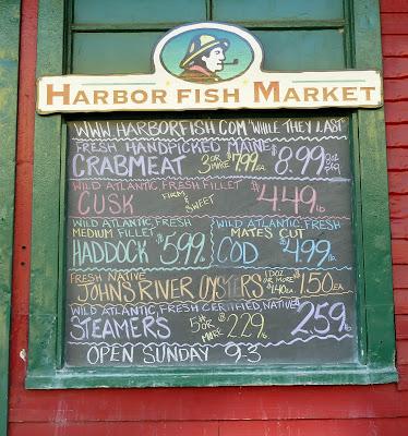 Portland maine for Fish market portland maine