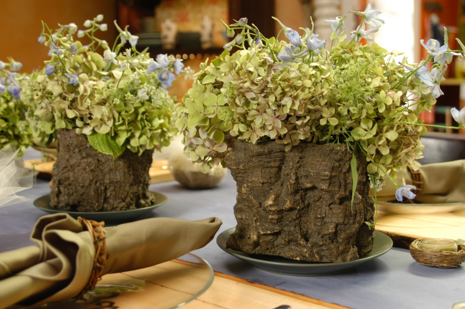 Cathie filian weddings diy rustic bridal brunch the Natural decorating