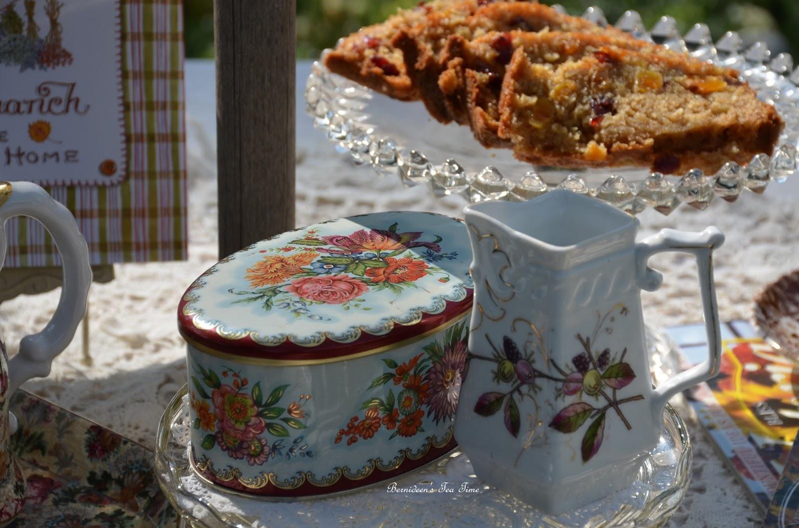 "Tea Time, Cottage and Garden: HARVEST OATMEAL TEA BREAD for ""Tea ..."
